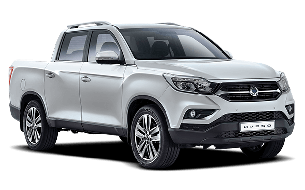 Musso Pick Up plateado - Ssangyong Costa Rica