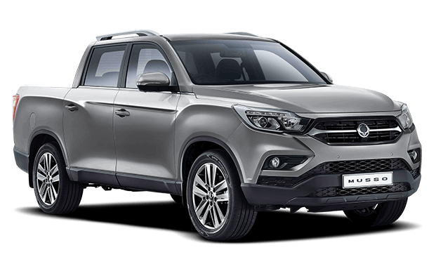 Musso Pick Up Gris - Ssangyong Costa Rica